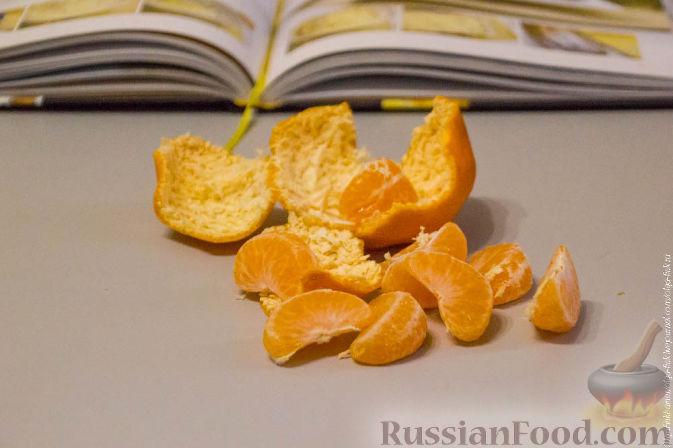 Фото приготовления рецепта: Рождественский кекс с мандаринами - шаг №1