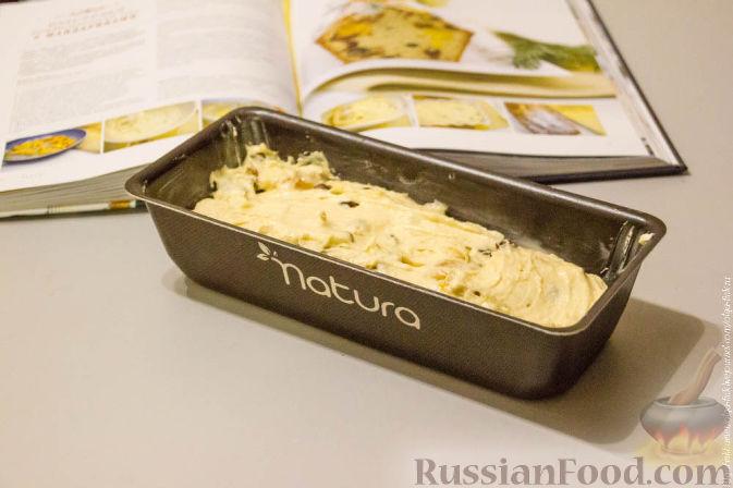 Фото приготовления рецепта: Рождественский кекс с мандаринами - шаг №9