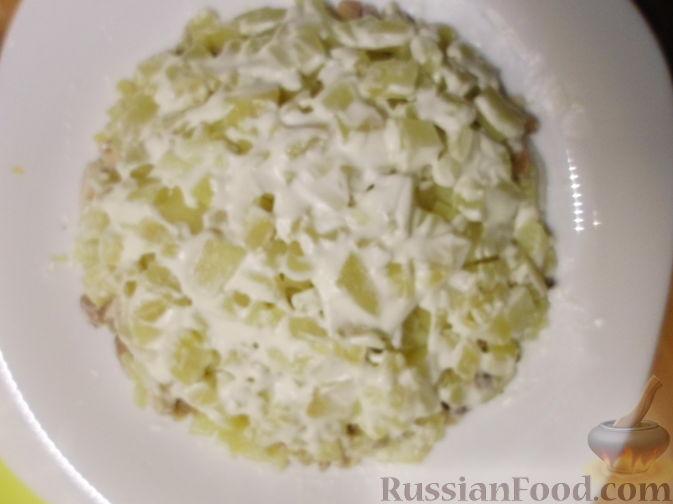 Салат каприз рецепт из моркови