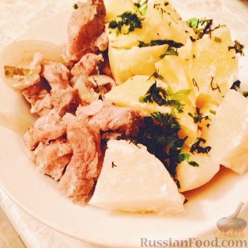 Рецепты с картофеля для пароварки с фото