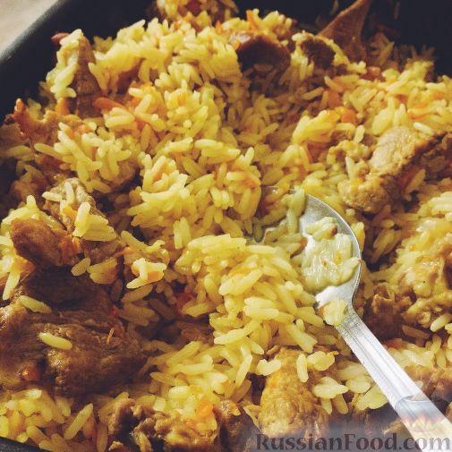 рис с мясом в мультиварке рецепты с фото пошагово