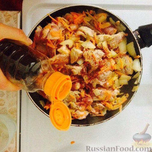 рецепт приготовления горшочков в духовке с мясом