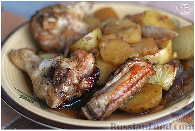 куриные крылышки в медовой заливке рецепт