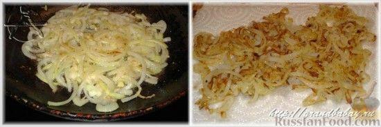 Фото приготовления рецепта: Салат из редьки с курицей - шаг №6
