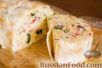 Фото приготовления рецепта: Закуска из лаваша - шаг №7