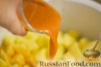 Фото приготовления рецепта: Жаркое по-домашнему (в мультиварке) - шаг №6