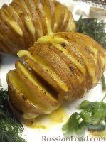 """Фото к рецепту: Картошка """"Веер"""""""