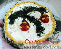 Фото к рецепту: Новогодний салат