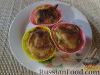 Фото к рецепту: Корзиночки с грибами и сыром
