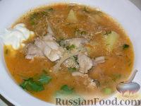 Фото к рецепту: Капустняк с квашеной капустой
