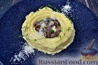 Фото к рецепту: Куриные сердца в сливочном соусе