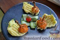 Фото к рецепту: Запеченные куриные крылышки в маринаде