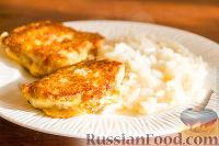 Фото к рецепту: Рыбное филе в сырном кляре