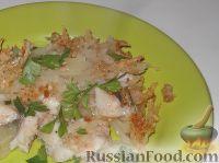 Фото к рецепту: Судак, запеченный с картофелем