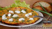 Фото к рецепту: Яичница с помидорами
