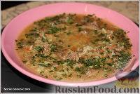 Фото к рецепту: Суп из куриной печени