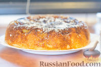 Фото к рецепту: Яблочная шарлотка в мультиварке