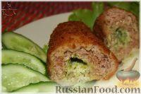 Фото к рецепту: Рубленые котлеты из индейки