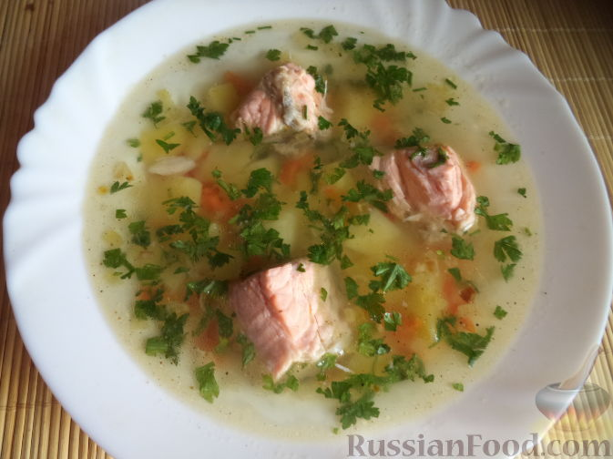 рецепт приготовления рыбного супа из семги