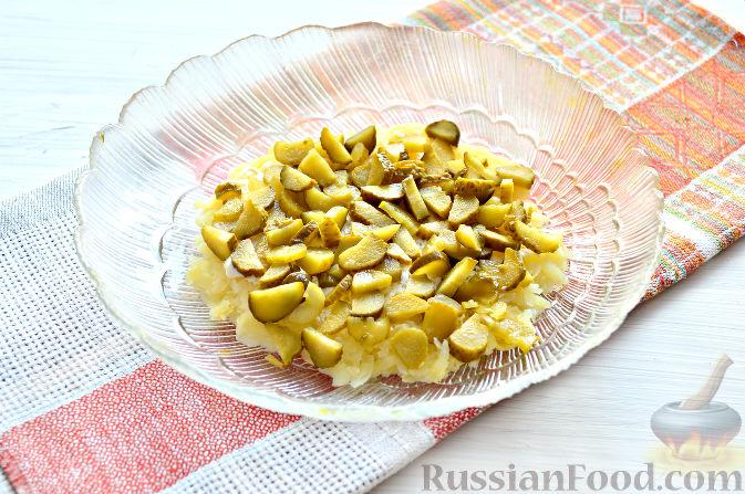 Фото приготовления рецепта: Хинкали с сыром сулугуни - шаг №9
