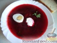 Фото к рецепту: Свекольник горячий