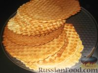 Фото к рецепту: Обычные вафли
