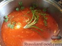 Фото приготовления рецепта: Щи из квашеной капусты с мясом - шаг №9