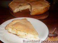 Фото к рецепту: Пирог с сыром