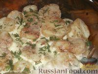 Фото к рецепту: Запеканка картофельная со сметаной