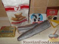 Фото приготовления рецепта: Хек, жаренный в сметане - шаг №1