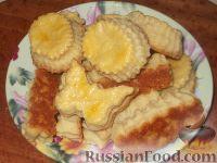 Фото к рецепту: Соленое творожное печенье