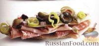 Фото к рецепту: Картофельные лодочки с колбасой