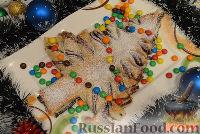 """Фото к рецепту: Праздничный пирог """"Ёлочка"""""""