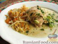 Фото к рецепту: Кролик с горчицей