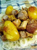 Фото к рецепту: Томленое мясо