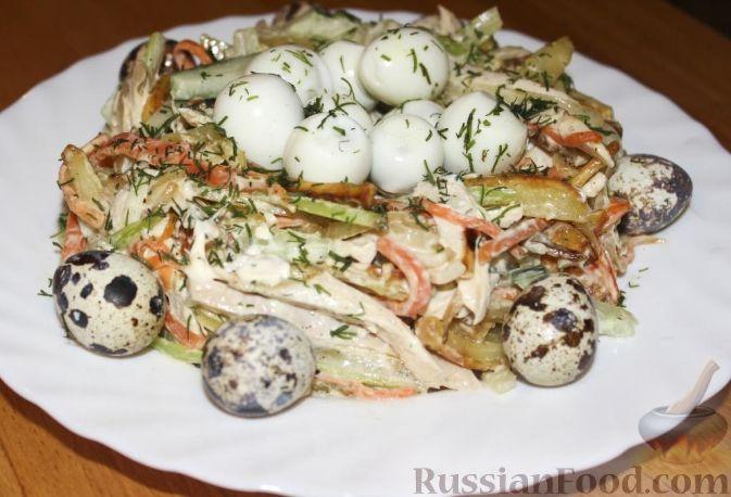 Салат из сырой тыквы на скорую руку рецепт с фото пошагово