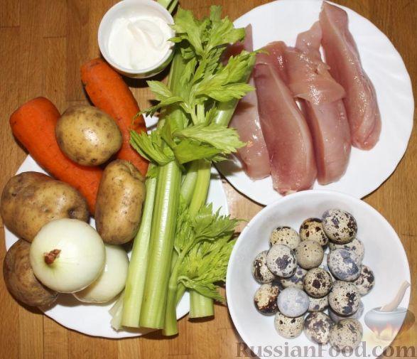 приготовить салат гнездо глухаря рецепт
