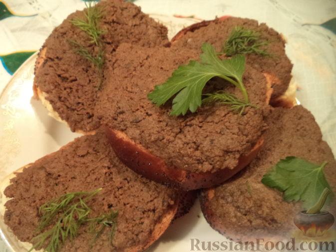 паштет из говяжьей печени с луком и морковью рецепт