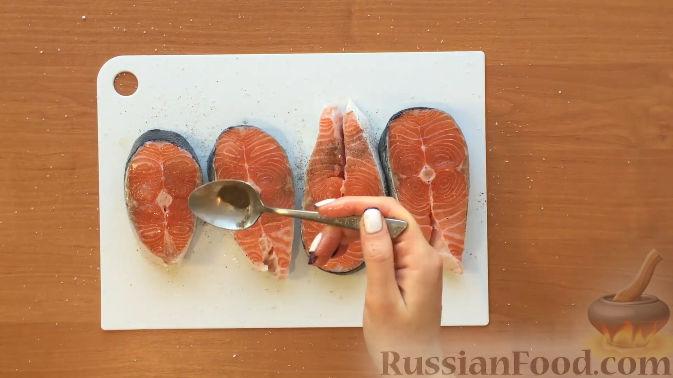 лосось в духовке и фольге рецепт