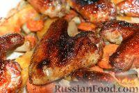 Фото к рецепту: Курица с тыквой и фенхелем