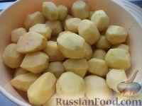 Фото приготовления рецепта: Картофель тушеный с мясом - шаг №5