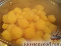 Фото приготовления рецепта: Картофель тушеный с мясом - шаг №9