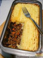 Фото к рецепту: Запеканка с бараниной