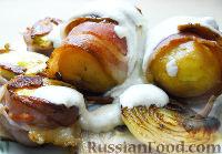 Фото к рецепту: Картошка в беконе