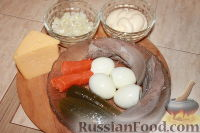 Фото приготовления рецепта: Слоеный салат из свиного языка - шаг №1