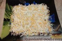 Фото приготовления рецепта: Слоеный салат из свиного языка - шаг №5