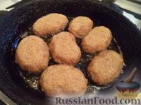 Фото приготовления рецепта: Жареные котлеты - шаг №7