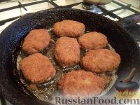 Фото приготовления рецепта: Жареные котлеты - шаг №8