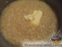 Фото приготовления рецепта: Каша пшеничная с маслом - шаг №6