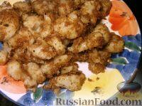 Фото к рецепту: Цветная капуста, обжаренная в сухарях